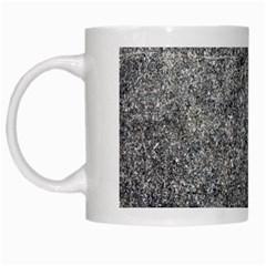 BLACK MICA White Mugs