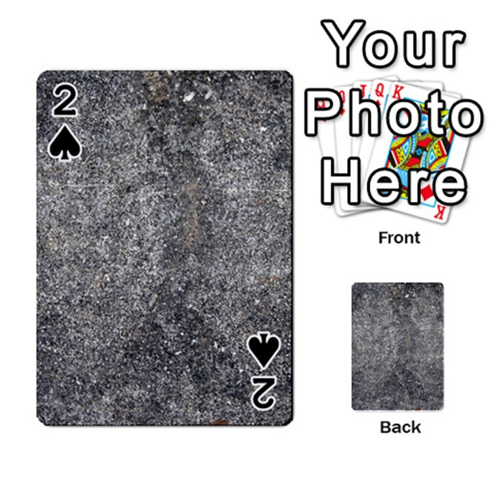 BLACK MICA Playing Cards 54 Designs