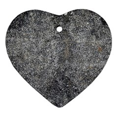 BLACK MICA Heart Ornament (2 Sides)