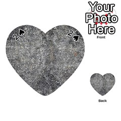 Black Mica Playing Cards 54 (heart)