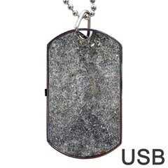 BLACK MICA Dog Tag USB Flash (One Side)