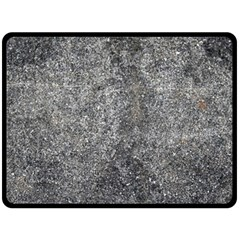 Black Mica Double Sided Fleece Blanket (large)