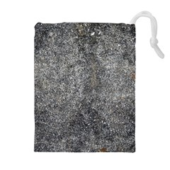 BLACK MICA Drawstring Pouches (Extra Large)
