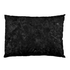Black Marble Pillow Cases (two Sides)