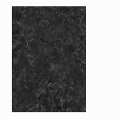 BLACK MARBLE Large Garden Flag (Two Sides)