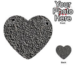 Black Gravel Playing Cards 54 (heart)
