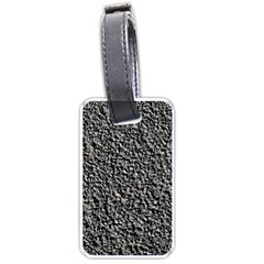 BLACK GRAVEL Luggage Tags (Two Sides)