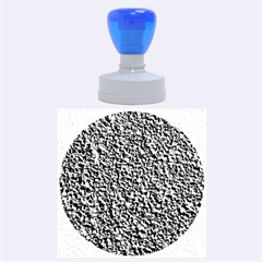 BLACK GRAVEL Rubber Round Stamps (Large)