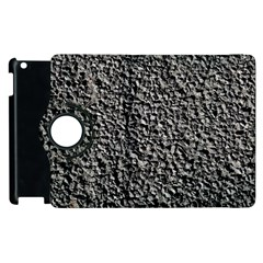 BLACK GRAVEL Apple iPad 3/4 Flip 360 Case