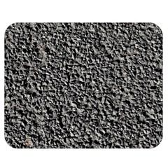 Black Gravel Double Sided Flano Blanket (medium)
