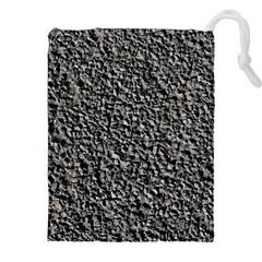 Black Gravel Drawstring Pouches (xxl)