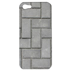 ALTERNATING GREY BRICK Apple iPhone 5 Hardshell Case