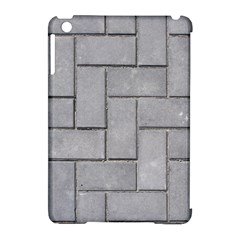 ALTERNATING GREY BRICK Apple iPad Mini Hardshell Case (Compatible with Smart Cover)