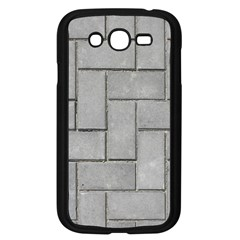 ALTERNATING GREY BRICK Samsung Galaxy Grand DUOS I9082 Case (Black)