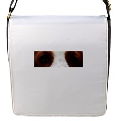 Welsh Springer Spaniel Eyes Flap Messenger Bag (S)