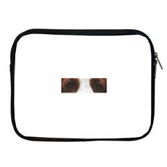 Welsh Springer Spaniel Eyes Apple iPad 2/3/4 Zipper Cases