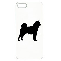 Shiba Inu Silhouette Apple iPhone 5 Hardshell Case with Stand