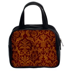 ROYAL RED AND GOLD Classic Handbags (2 Sides)