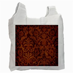 ROYAL RED AND GOLD Recycle Bag (One Side)