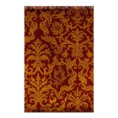 Royal Red And Gold Shower Curtain 48  X 72  (small)