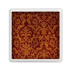 ROYAL RED AND GOLD Memory Card Reader (Square)