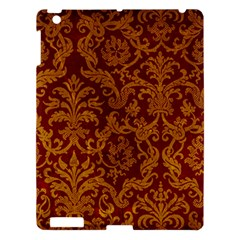 ROYAL RED AND GOLD Apple iPad 3/4 Hardshell Case