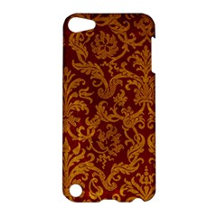ROYAL RED AND GOLD Apple iPod Touch 5 Hardshell Case