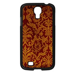 ROYAL RED AND GOLD Samsung Galaxy S4 I9500/ I9505 Case (Black)