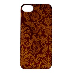 ROYAL RED AND GOLD Apple iPhone 5S Hardshell Case