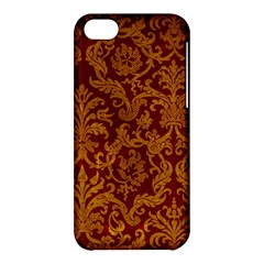 ROYAL RED AND GOLD Apple iPhone 5C Hardshell Case