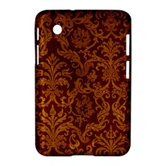 ROYAL RED AND GOLD Samsung Galaxy Tab 2 (7 ) P3100 Hardshell Case