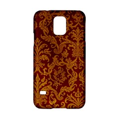 ROYAL RED AND GOLD Samsung Galaxy S5 Hardshell Case