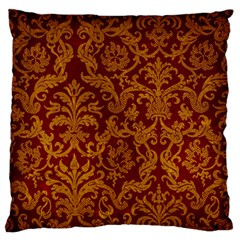 ROYAL RED AND GOLD Standard Flano Cushion Cases (One Side)