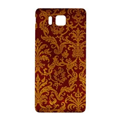 ROYAL RED AND GOLD Samsung Galaxy Alpha Hardshell Back Case
