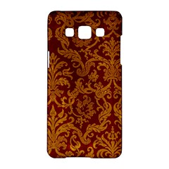 ROYAL RED AND GOLD Samsung Galaxy A5 Hardshell Case
