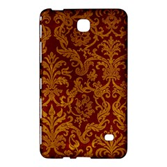 ROYAL RED AND GOLD Samsung Galaxy Tab 4 (8 ) Hardshell Case