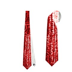Red Patchwork Neckties (two Side)