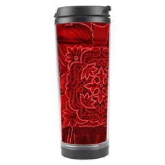 RED PATCHWORK Travel Tumblers
