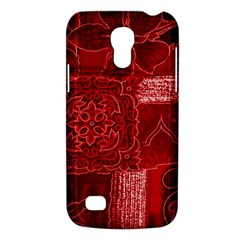 RED PATCHWORK Galaxy S4 Mini