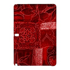 RED PATCHWORK Samsung Galaxy Tab Pro 12.2 Hardshell Case