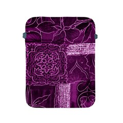 MAGENTA PATCHWORK Apple iPad 2/3/4 Protective Soft Cases