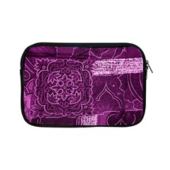 MAGENTA PATCHWORK Apple iPad Mini Zipper Cases