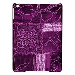 MAGENTA PATCHWORK iPad Air Hardshell Cases