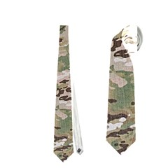 Camo Woodland Faded Neckties (one Side)