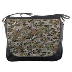 CAMO WOODLAND FADED Messenger Bags