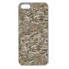 CAMO WOODLAND FADED Apple Seamless iPhone 5 Case (Clear)