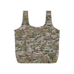 CAMO WOODLAND FADED Full Print Recycle Bags (S)