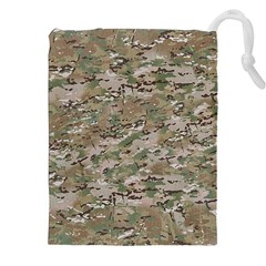 CAMO WOODLAND FADED Drawstring Pouches (XXL)