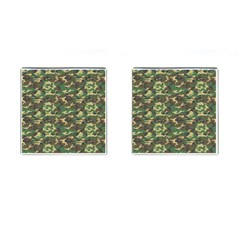 CAMO WOODLAND Cufflinks (Square)