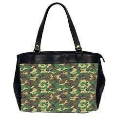 CAMO WOODLAND Office Handbags (2 Sides)